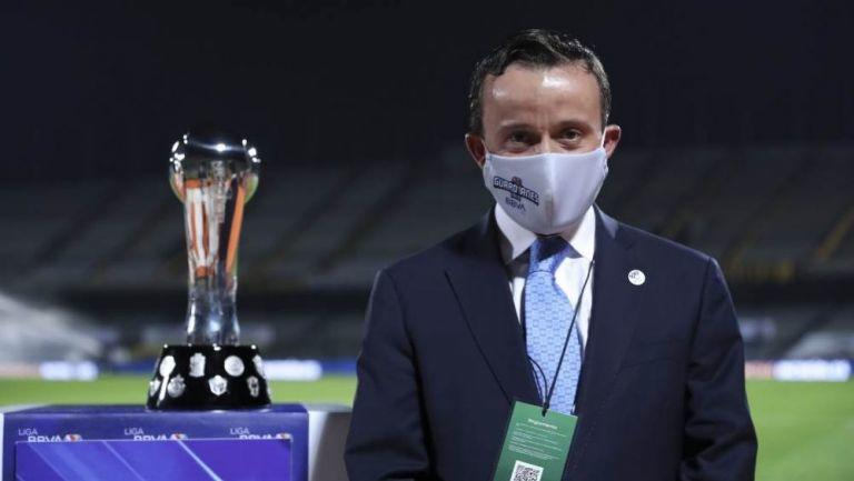 Mikel Arriola presidente de la Liga MX
