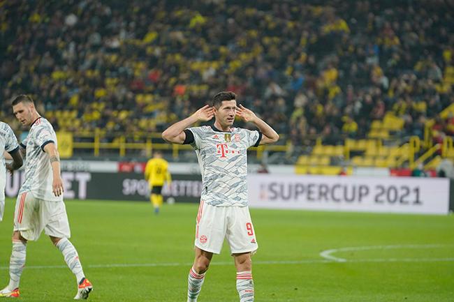 Con Lewandowski como figura, el Bayern se llevó la Supercopa de Alemania