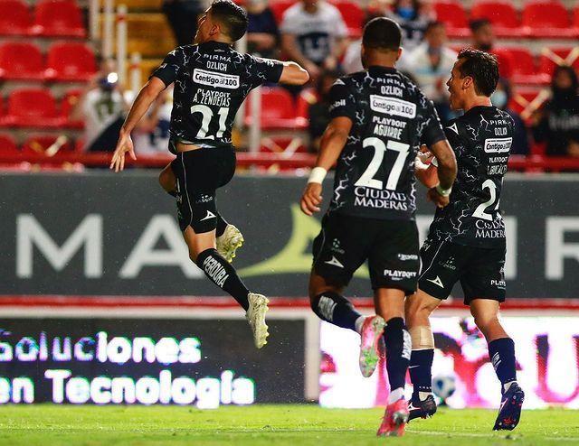 Necaxa sumó su segundo triunfo de manera consecutiva y Pumas se hundió más en el torneo