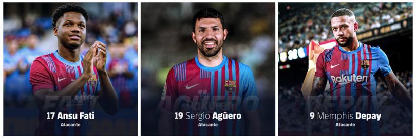 Kun Agüero usará el 19 en su primera temporada con el Barcelona