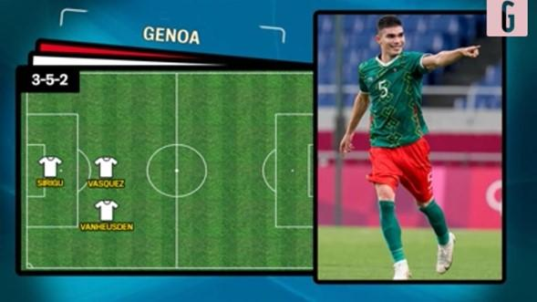 Johan podría ser uno de los líderes de la defensa del Genoa