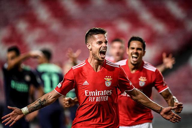 Benfica se llevó una ventaja importante de casa para el juego de vuelta