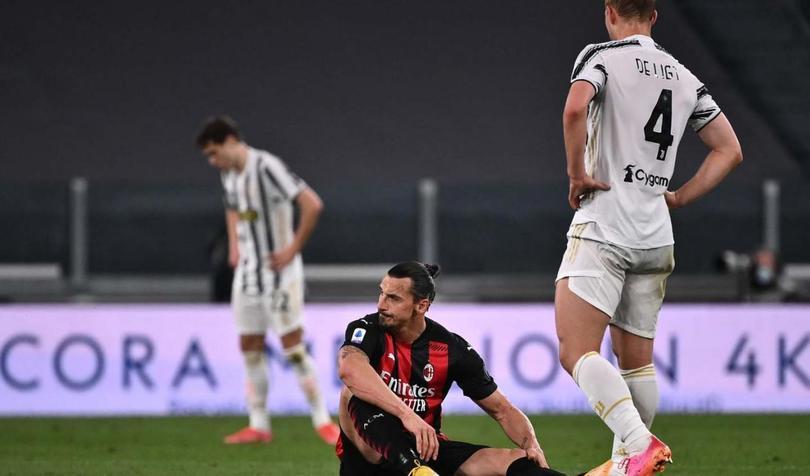 Ibrahimovic se lesión en mayo