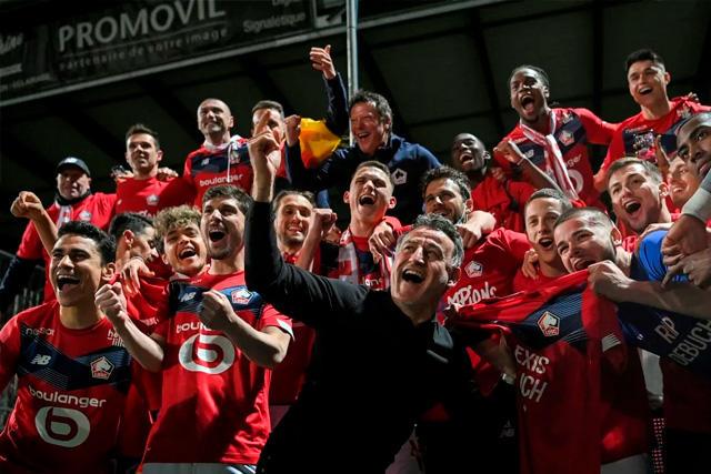 Lille, campeón de Francia en la temporada 2020-21