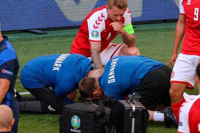 Kjaer y el cuerpo médico, los héroes de la Euro2020