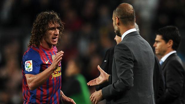 Guardiola y Puyol compartieron vestuario