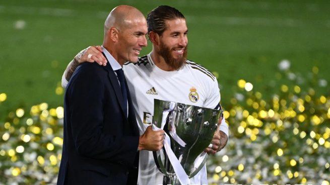 Zidane y Ramos coincidieron en la era galáctica del Real Madrid