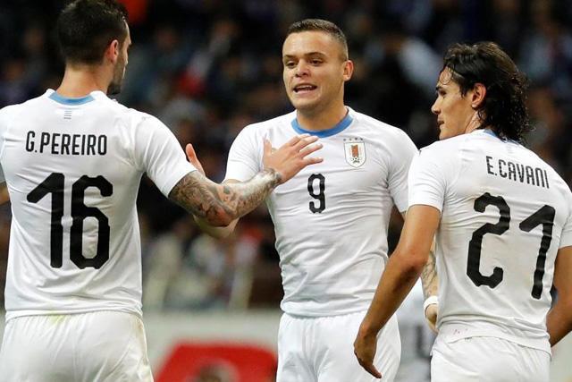 Jonathan Rodríguez podrá ser el referente en los partidos de eliminatoria mundialista