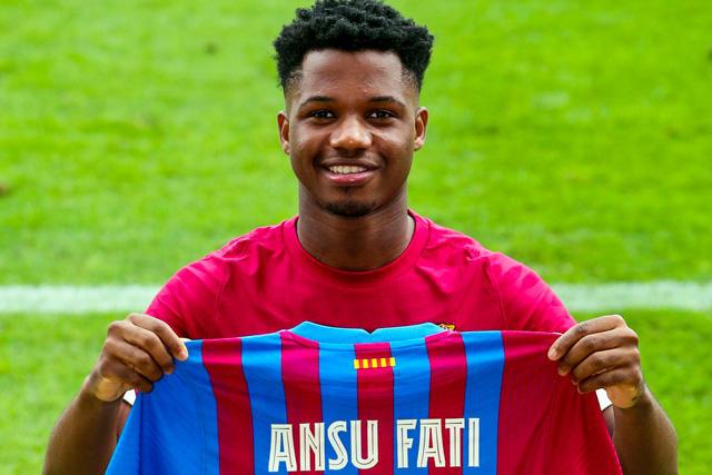 Ansu Fati, heredero del 10 de Messi