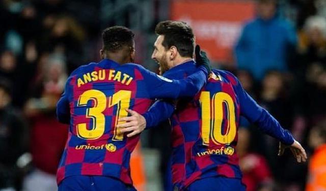 Ansu Fati heredará el número que portó Messi durante 13 años con los blaugranas