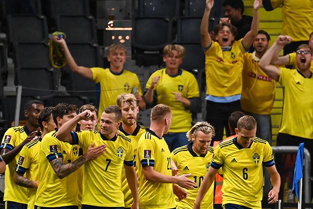Suecia vence a España