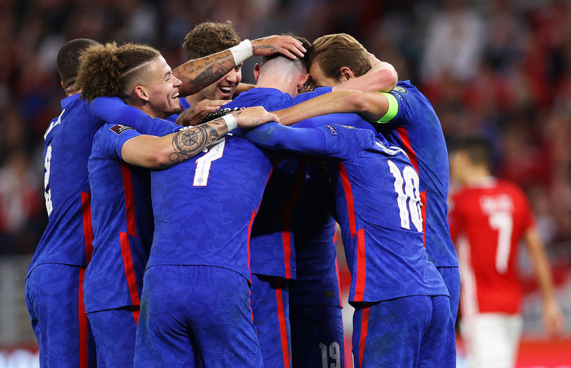 Inglaterra vence a Hungría 4 a 0