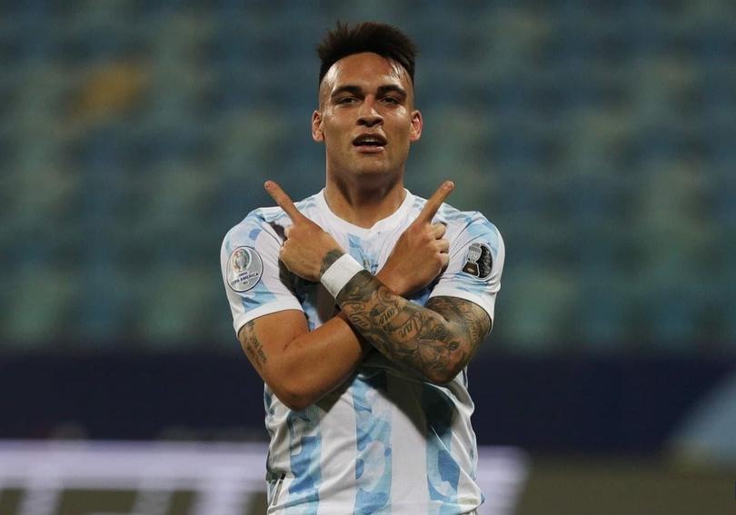Lautaro Martínez abrió el marcador