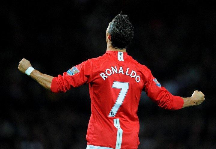 Cristiano Ronaldo y el mítico 7