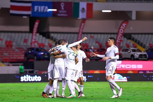 México vence a Costa Rica por la mínima