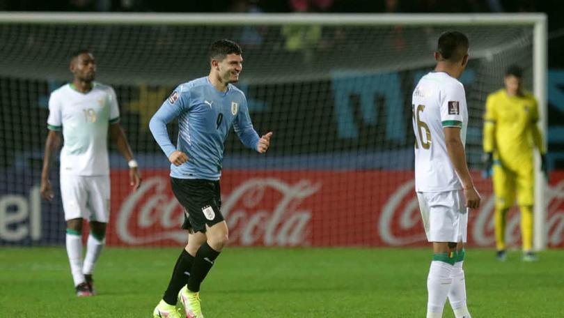 Uruguay goleó a Bolivia