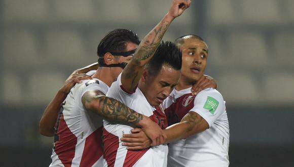 Perú sube en la tabla de la eliminatoria