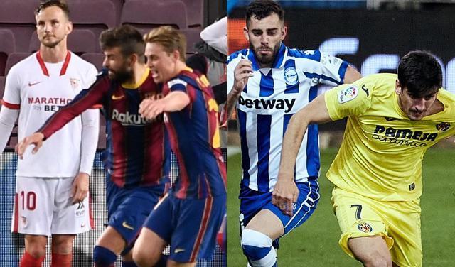 Los partidos de Champions del Barca y Villareal impidieron que cambiar de horario sus partidos solucionara el problema