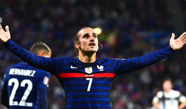 Griezmann fue clave para la victoria de Francia en el último partido de esta fecha FIFA