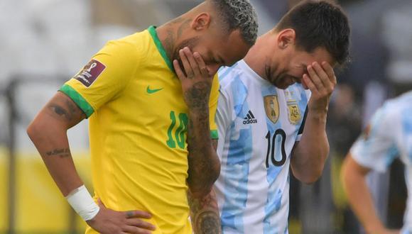 Partido suspendido entre Brasil y Argentina