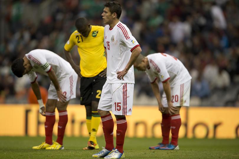 En las eliminatorias para Brasil 2014, México no pudo con los Reggae Boyz