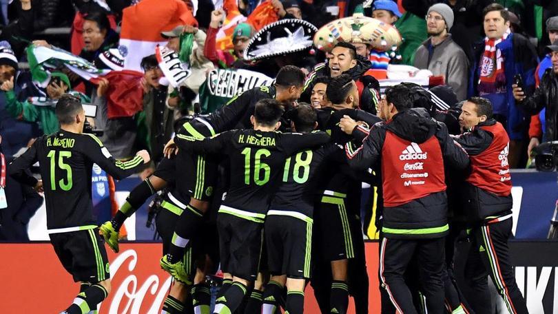 México ganó en Columbus