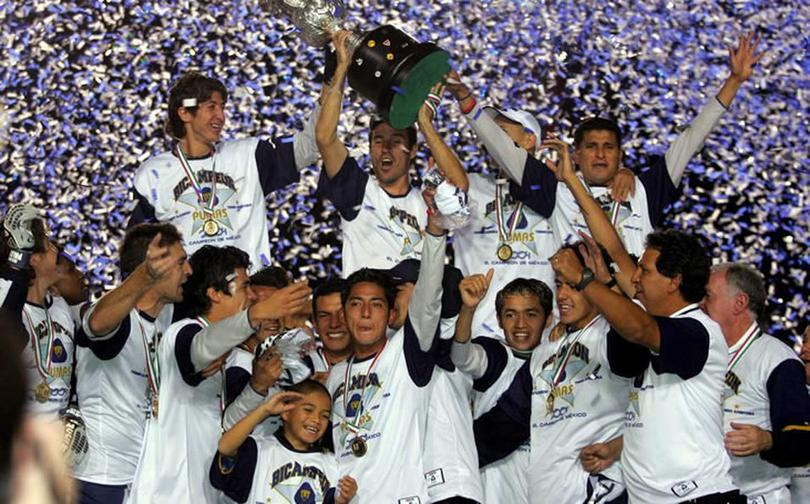 Pumas primer bicampeón en torneos cortos