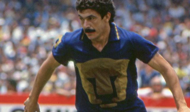 Antes de hacer historia como entrenador del equipo, Tuca fue figura en la cancha con Pumas