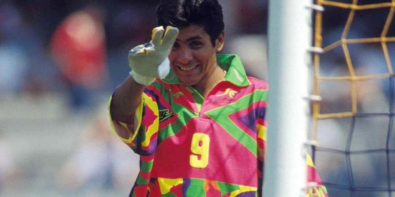 Jorge Campos es parte de la lista de porteros históricos que han pasado por Pumas
