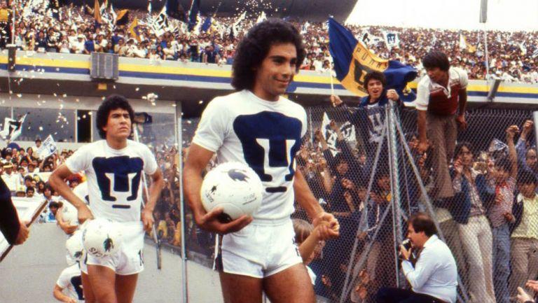 Antes de convertirse en una figura mundial, Hugo Sánchez brillo con los Pumas