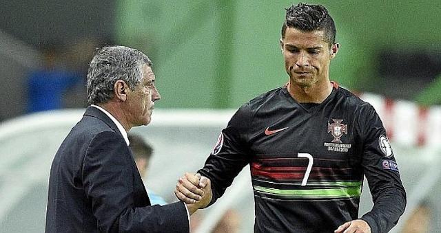 El técnico portugués lamentó que después de un amistoso contra el United CR7 dijera adiós al Sporting