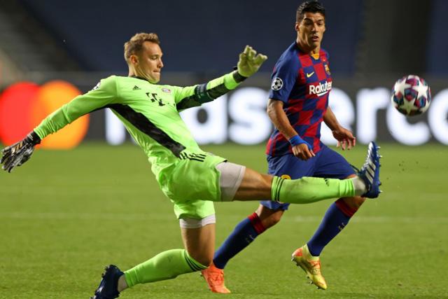 Manuel Neuer recordó el 2-8 que el Bayern le propinó al Barcelona