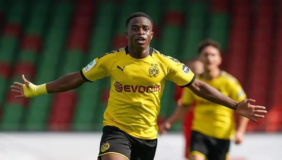 Youssoufa Moukoko tiene una gran proyección en Dortmund