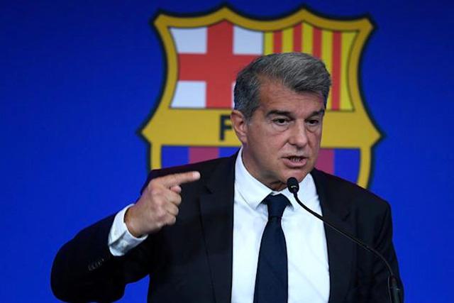 Joan Laporta señala a Tebas como el culpable de la salida de Messi