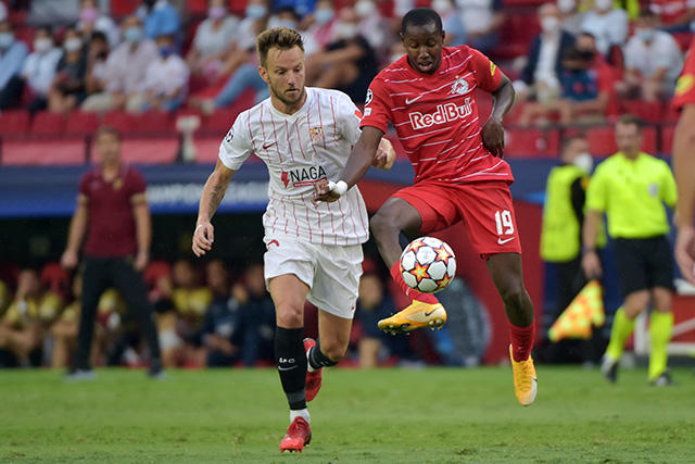 Sevilla y Salzburg se reparten puntos en el inicio de la Champions League