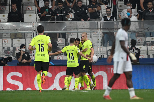 Dortmund viajó a Turquía en el inicio de la Champions y salió con la victoria y el liderato del grupo C