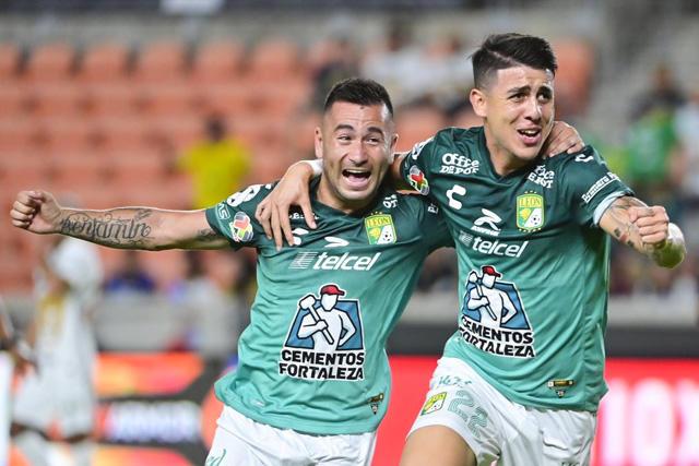 Colombatto celebra su gol ante Pumas en las semis de la Leagues Cup