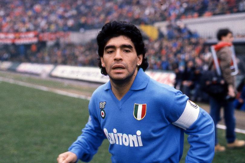 Diego llevó a Napoli a los primeros planos
