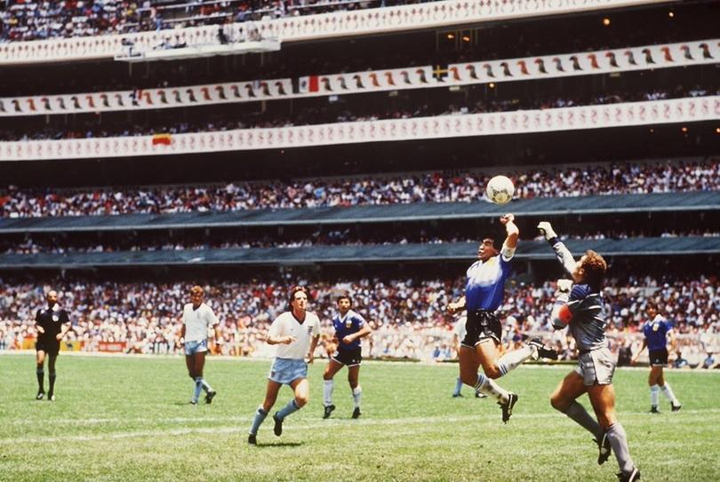 Maradona y su gran recurso