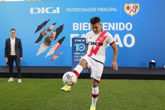 Radamel Falcao usará nuevo número en honor a su padre