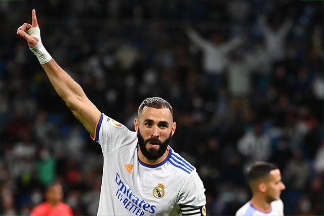 Karim Benzema llegó a 200 goles en LaLiga