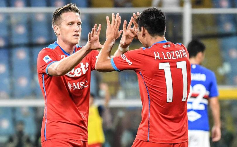 Napoli con paso firme en el Calcio italiano