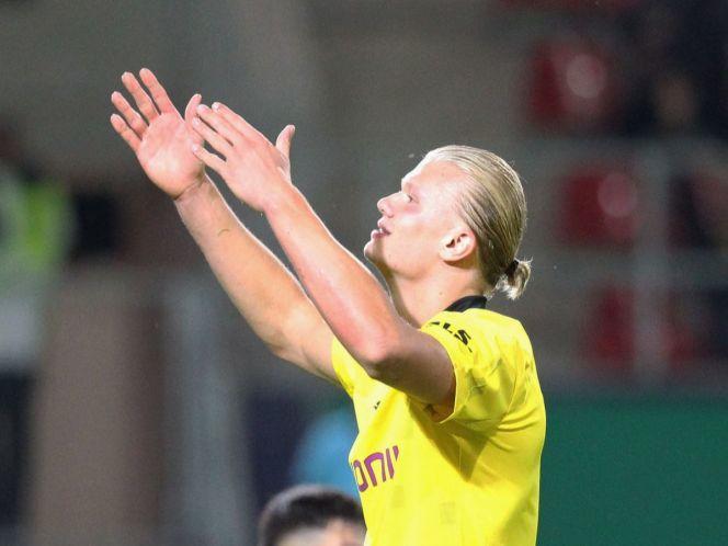 Erling Haaland goleador de Borussia Dortmund