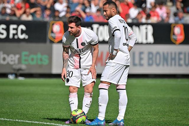 PSG se hace de un récord negativo en la derrota ante Rennes