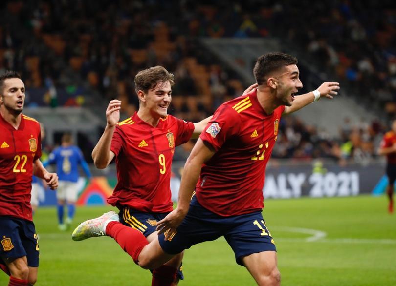 España vence a Italia