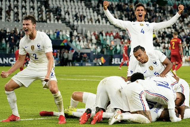 Francia remonta 3-2 a Bélgica en las semis de la UEFA Nations League