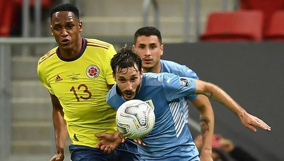Uruguay y Colombia no pasaron del empate