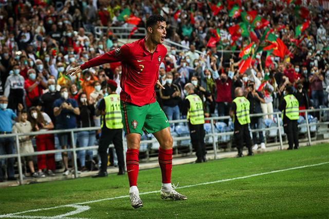 Cristiano Ronaldo consigue nuevo récord con Portugal