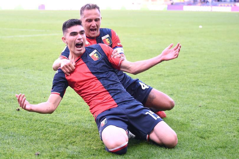 Genoa se estrenó con gol en serie A
