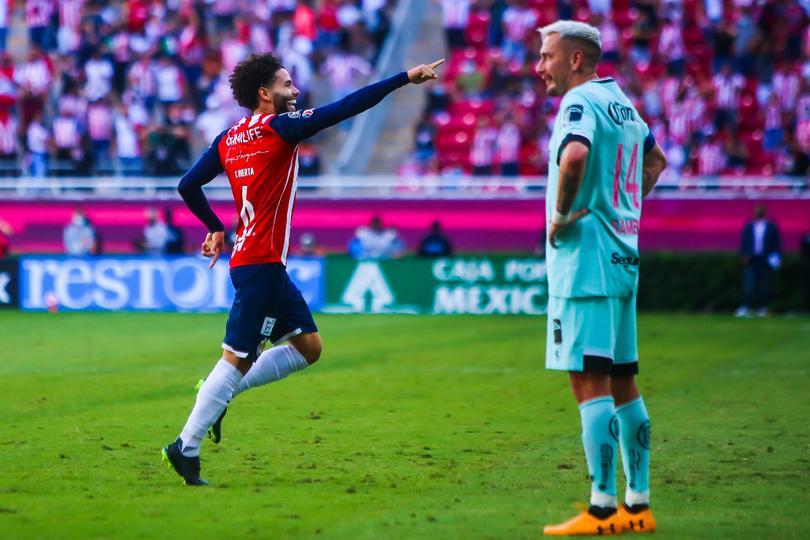 Huerta hizo el gol del triunfo